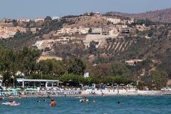 Beaches of Georgioupolis, Crete stock photography