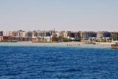 Beaches of Hurghada Royalty Free Stock Photos