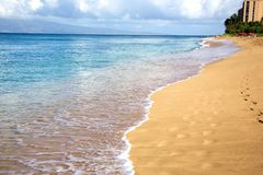 Beaches in Kaanapali Royalty Free Stock Photos
