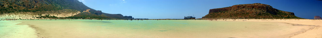 Beaches Lagoon stock photo