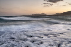 Beaches of Lanzarote Stock Photo