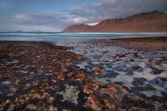 Beaches of Lanzarote Stock Photography