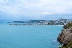 Beaches near Barcelona, Spain Royalty Free Stock Photos