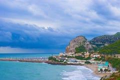 Beaches near Barcelona, Spain Stock Images