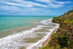 Beaches Near Palomino. Deserted beaches and coastline near Palomino, Colombia Royalty Free Stock Photography