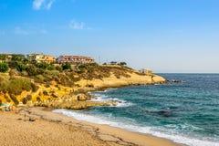 Beaches near Porto Torres in Sardinia Royalty Free Stock Photography