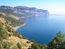 Free Beaches Of Balaklava Town, Crimea Stock Photography - 21291452
