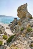 Beaches in province of Vibo Valentia (Capo Vaticano) Stock Images