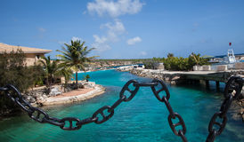 Beaches and Resorts of Curacao Royalty Free Stock Images