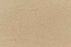 Beaches and sea, Sea waves lapped the sandy beach. Royalty Free Stock Image