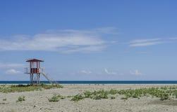 Beaches and the seaside of Black Sea, Samsun city, Turkey Royalty Free Stock Photography