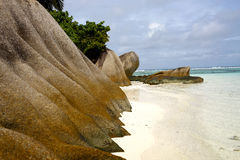 Beaches of Seychelles Stock Image
