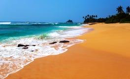 Beaches in Sri Lanka Royalty Free Stock Images
