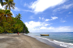Beaches- St. Lucia Royalty Free Stock Photography