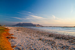 Beaches and Table Mountain Stock Photo
