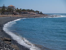 Beaches of Tenerife, Spain Royalty Free Stock Image