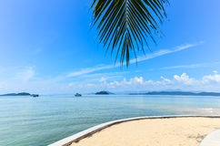 Beaches in Thailand. Andaman Sea in Chumphon, Thailand Royalty Free Stock Photos