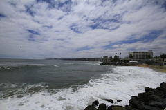 Beaches of Valparaiso, Vina Del Mar, Chile Royalty Free Stock Photography
