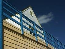 Beachfont Haus Lizenzfreies Stockbild