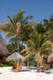 beachfront Μεξικό Στοκ Εικόνες