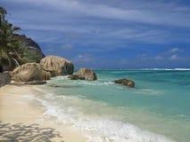 beachfront νησί τροπικό Στοκ Φωτογραφίες