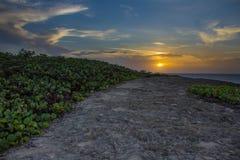 beachfront Images libres de droits