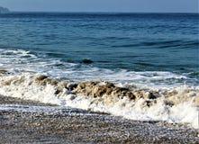 Beachfront bij Hermosa-Strand Californië in de Provincie van Los Angeles, Californië, Verenigde Staten royalty-vrije stock afbeelding