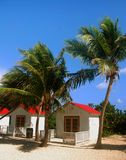 Beachfront cabins Stock Images