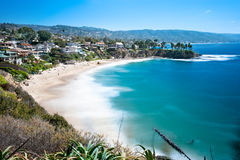 Beachfront cove Royalty Free Stock Image