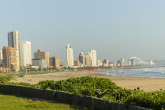 Beachfront Durban Royaltyfri Bild