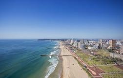 Beachfront Durban guld- mil Royaltyfria Foton