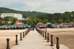 Beachfront at Halong Town, Vietnam Stock Images
