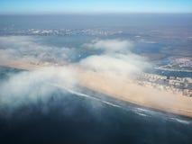 beachfront Kalifornien royaltyfria foton