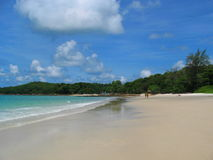The beachfront of the Ko Samet Island Stock Images