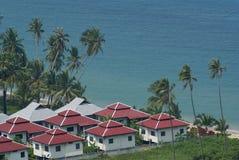 Beachfront life Stock Image
