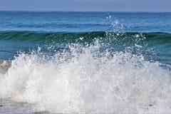 Beachfront på den Hermosa stranden Kalifornien i Los Angeles County, Kalifornien, Förenta staterna royaltyfri bild