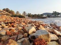 beachfront arkivbilder