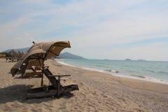 Beachfront royalty free stock photo