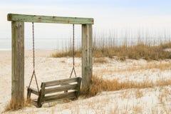 The Beachfront Swing Stock Image