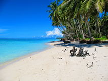 Beachfront of a tiny island off West Sumatra, Indo Stock Photo