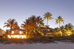 Beachfront villas in Naples, Florida Stock Photography