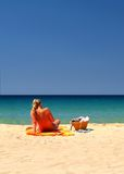 beachgirl Стоковые Изображения