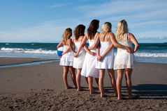 Beachgirls Immagine Stock