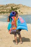 Beachgoer Royalty Free Stock Photo
