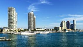 Beachh Майами южное, Florise, США Стоковые Изображения
