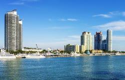 Beachh Майами южное, Florise, США Стоковые Фотографии RF
