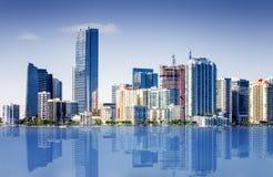 Beachh du sud de Miami, Florise, Etats-Unis Image libre de droits