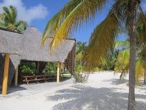 Beachhouse Куба Стоковая Фотография