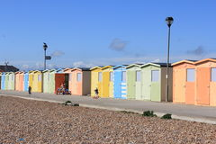 Beachhouses Stock Photography