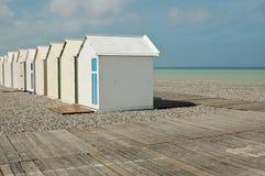 Beachhuts Stock Image